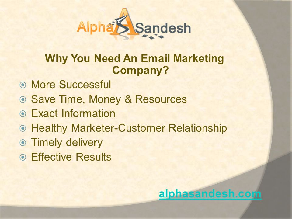 Why You Need An Email Marketing Company.