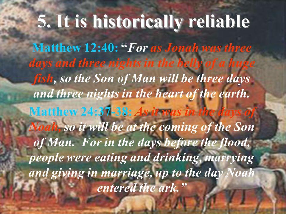 1.Creation of the universe (Gen. 1) John 1:3; Col.