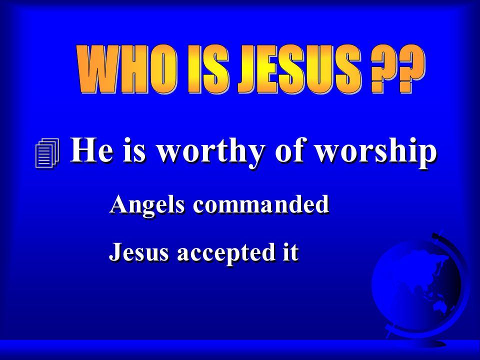 He said, Lord, I believe, and he worshiped him.