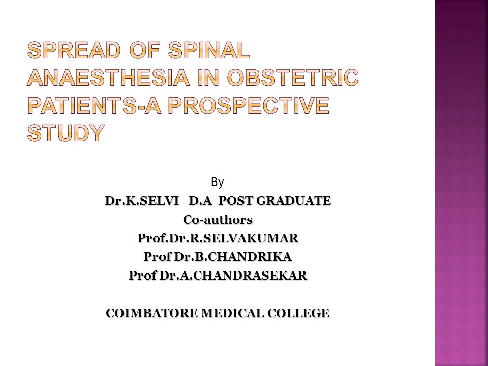 By Dr.K.SELVI D.A POST GRADUATE Co-authorsProf.Dr.R.SELVAKUMAR Prof Dr.B.CHANDRIKA Prof Dr.A.CHANDRASEKAR COIMBATORE MEDICAL COLLEGE