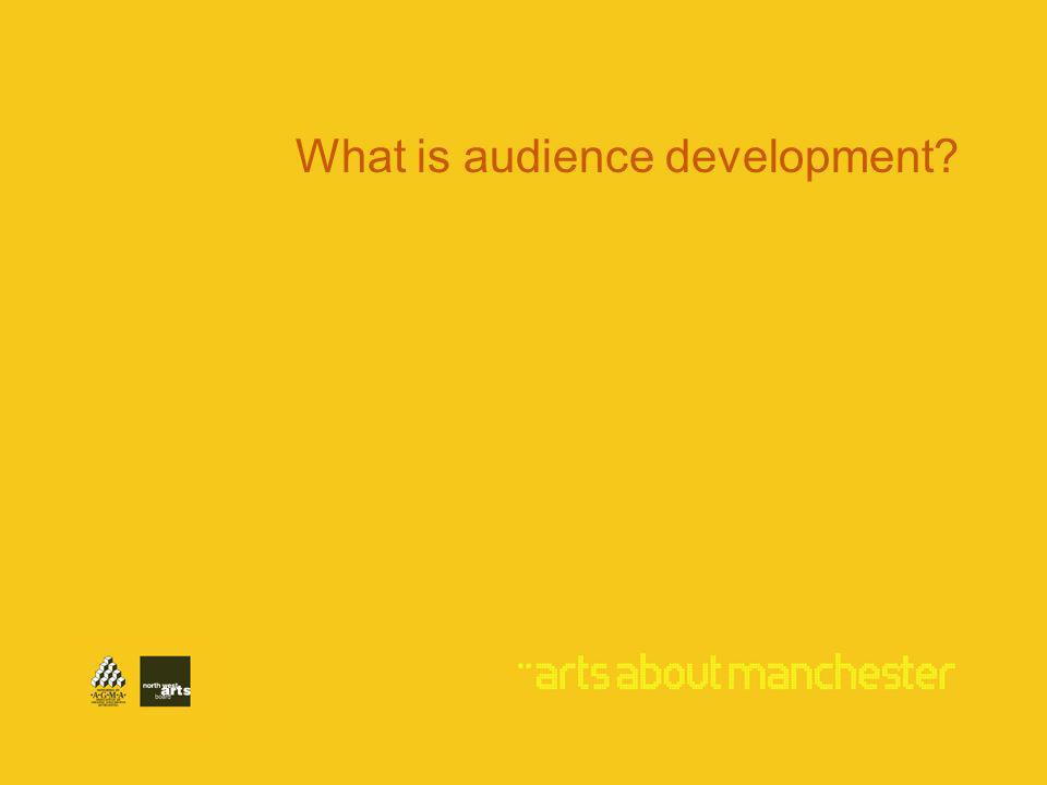 What is audience development?