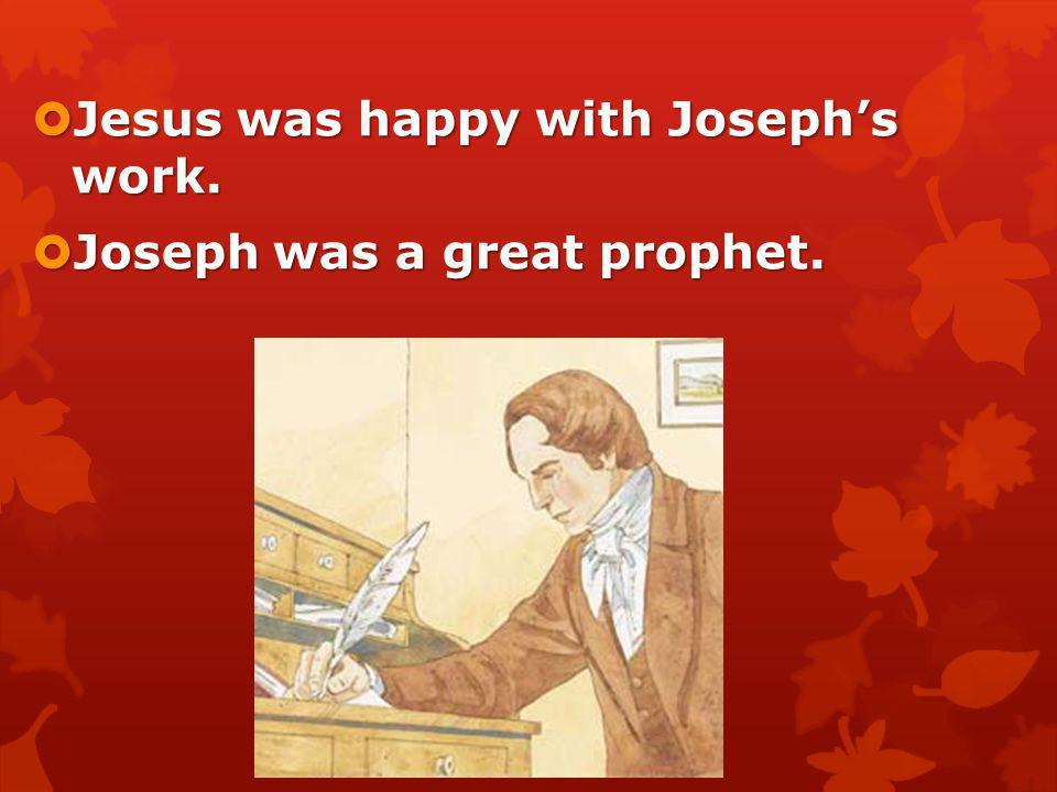 Joseph Smith didnt understand some parts of the Bible. Joseph Smith didnt understand some parts of the Bible. He prayed for understanding, and the Lor