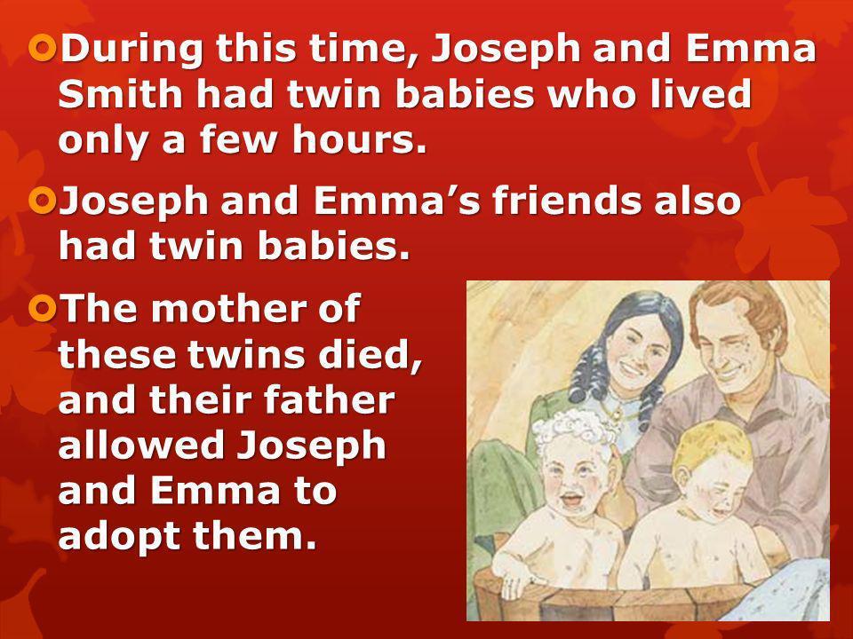 Jesus was happy with Josephs work. Jesus was happy with Josephs work. Joseph was a great prophet. Joseph was a great prophet.