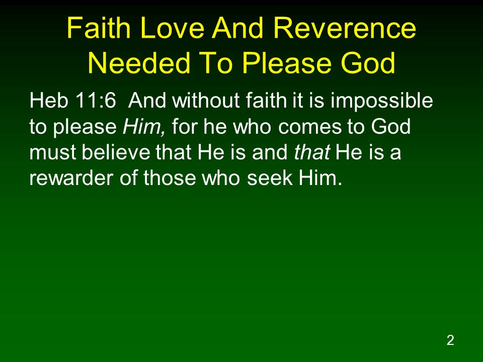 33 Reverence Is A Response To Gods Greatness The greatness of Gods Power Holiness Mercy What is reverence.