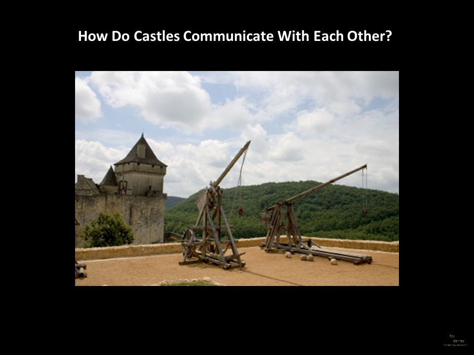 How Do Castles Communicate With Each Other?