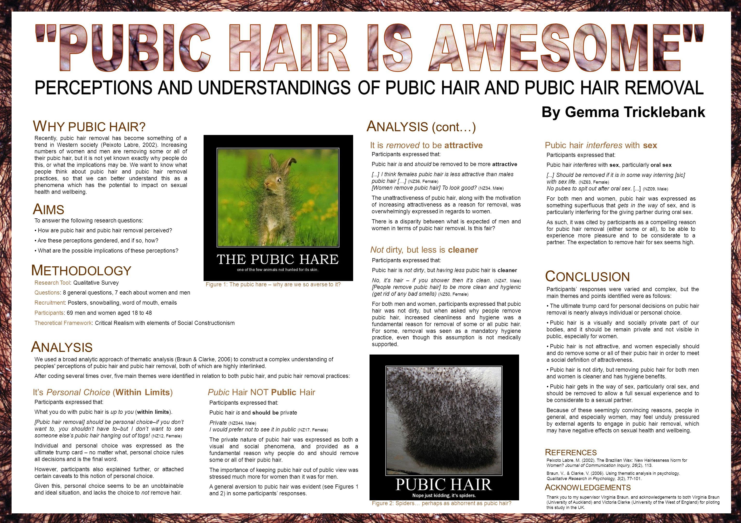 W HY PUBIC HAIR.