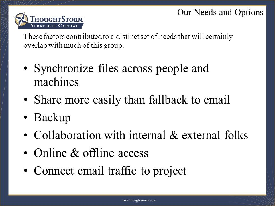 These factors contributed to a distinct set of needs that will certainly overlap with much of this group.
