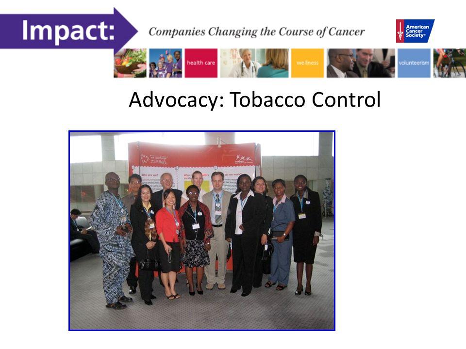 Advocacy: Tobacco Control