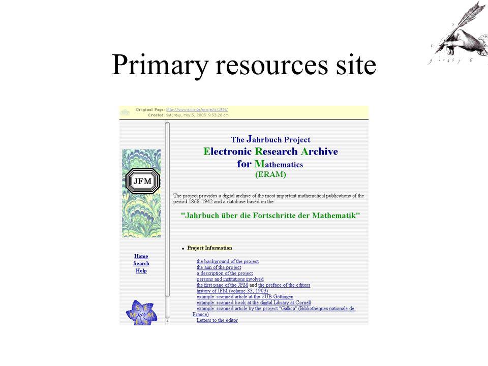 Accumulative sites
