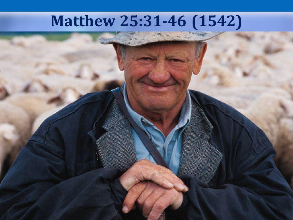 Matthew 25:31-46 (1542)
