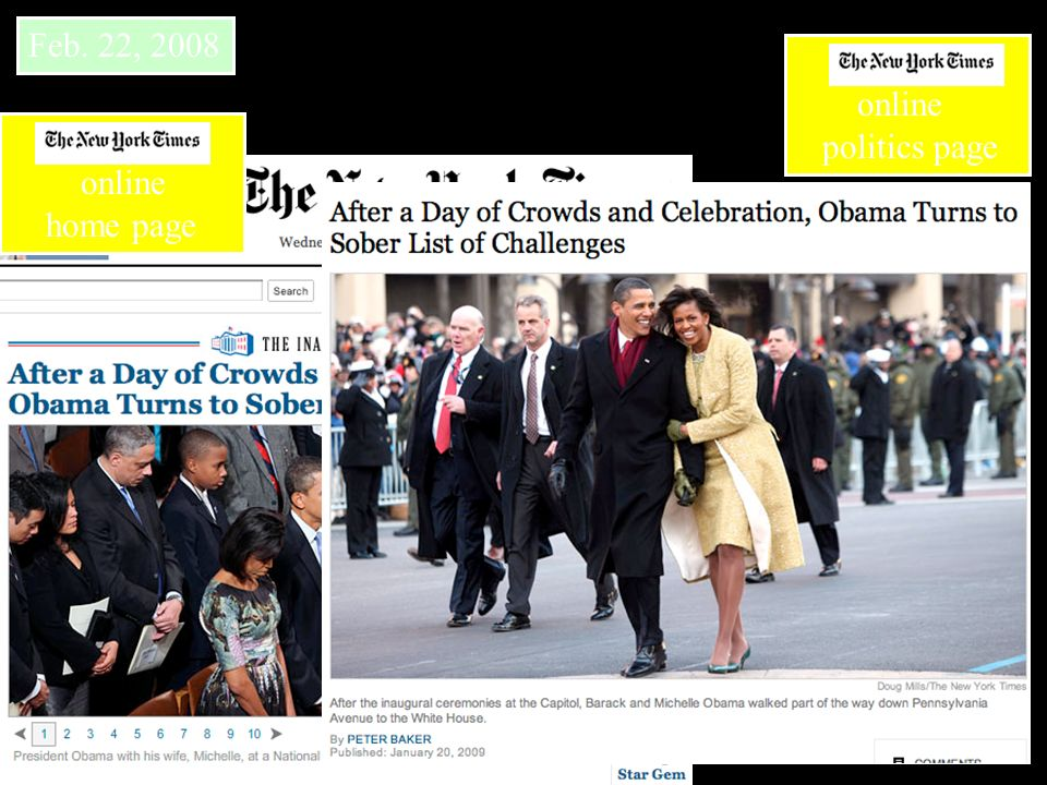 Feb. 22, 2008 online politics page online home page