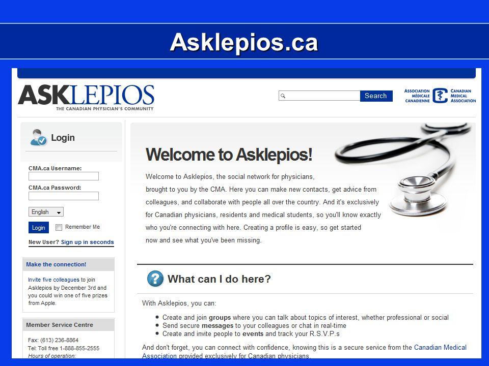 Asklepios.ca