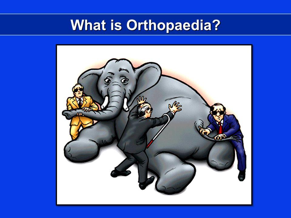 What is Orthopaedia