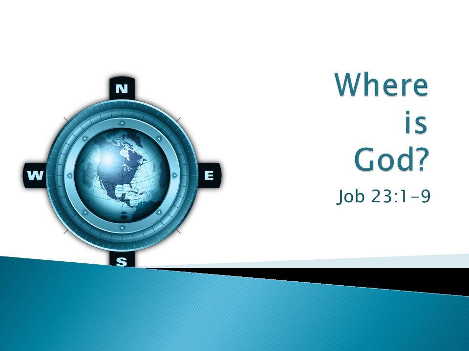 Job 23:1-9