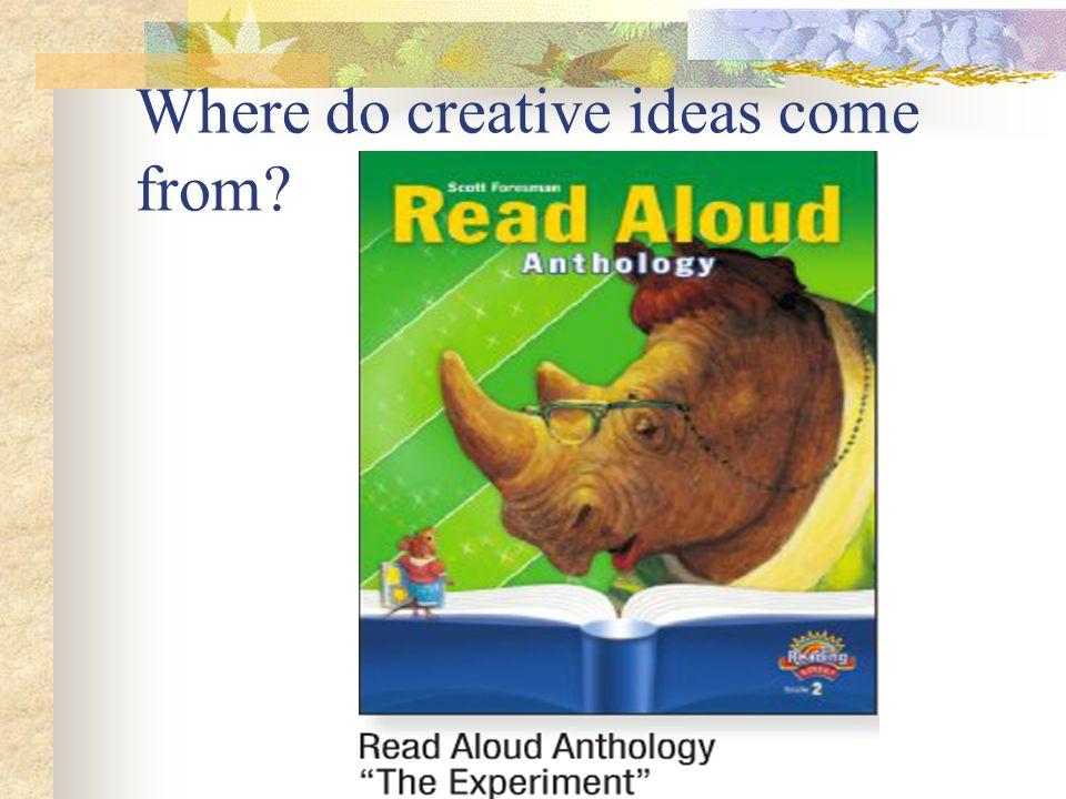 Where do creative ideas come from?