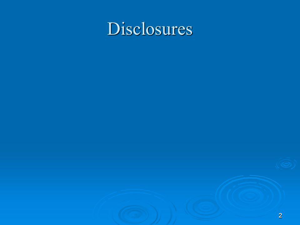 2 Disclosures