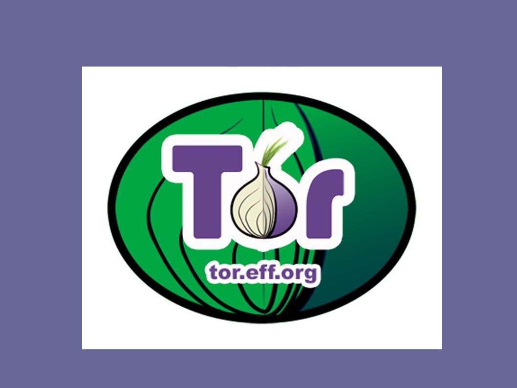 TOR software + network of virtual tunnels journalists whistleblowers dissidents those not wanting to reveal socially sensitive info about themselves – illnesses, victims of abuse https://www.torproject.org/index.html.en http://www.iusmentis.com/society/privacy/remailers/onionrouting/#OnionroutingwithTor