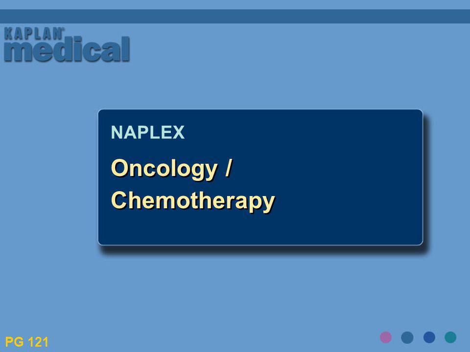 Oncology / Chemotherapy NAPLEX PG 121