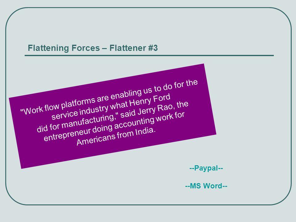 Flattening Forces – Flattener #3