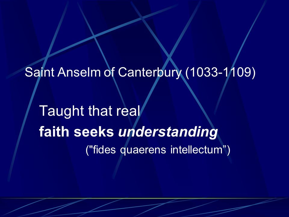 Understanding requires REASON to discern right from wrong, good from evil, truth from falsehood.