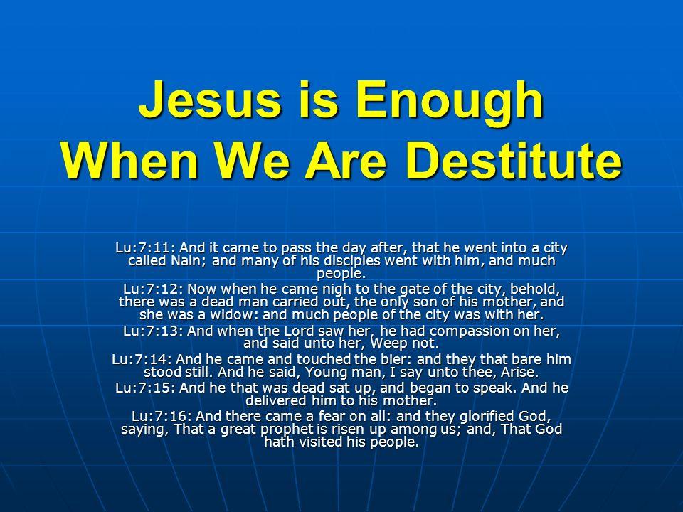 Are we Destitute/Despair.Despair & Destitute.