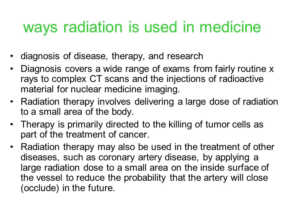 NUCLEAR MEDICINE discovery of x rays in 1895 was a major turning point in diagnosing physicians finally had an easy way to see inside the body without having to operate Newer x-ray technologies such as CT (computerized tomography) scans have revolutionized the diagnosis and treatment of diseases affecting almost every part of the body.