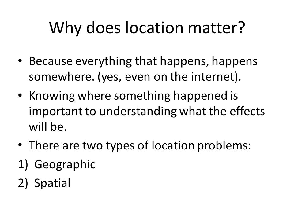 What is GIS.