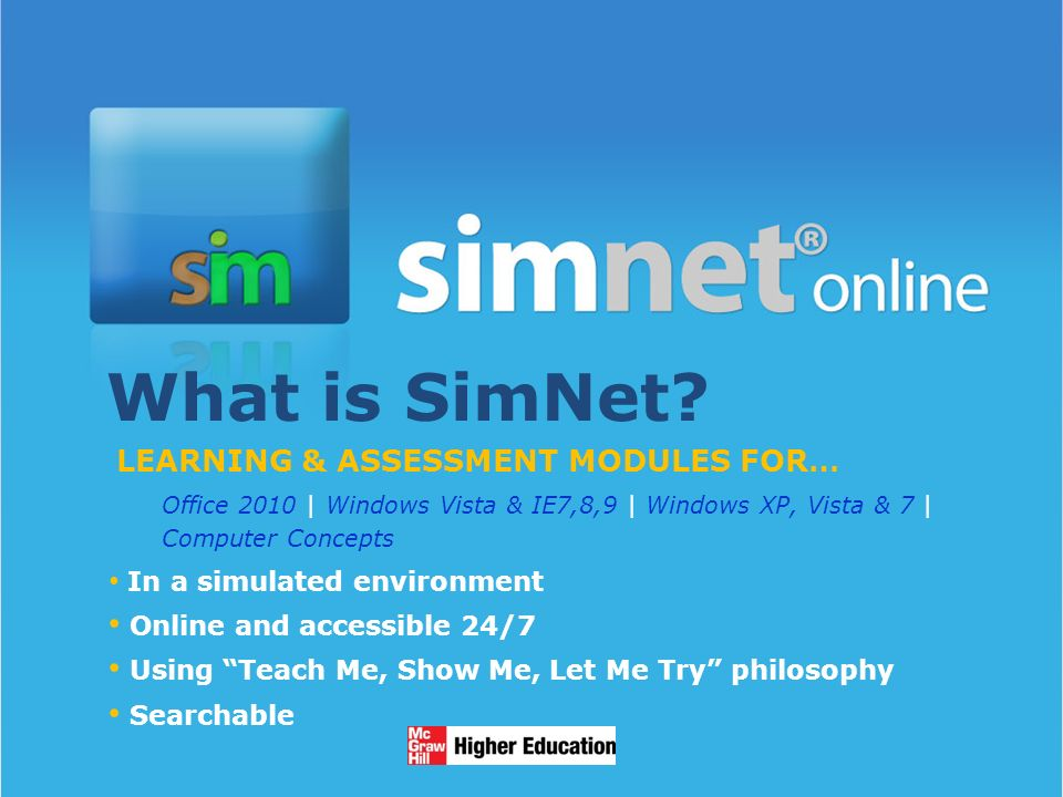 1/13/20141 What is SimNet.
