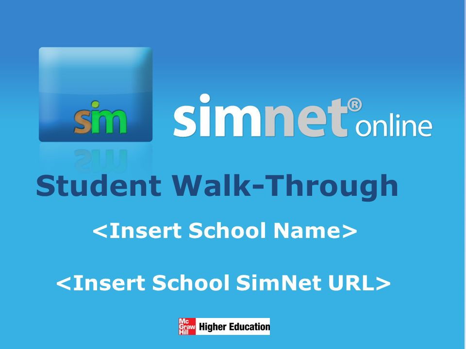 1/13/20142 Student Walk-Through