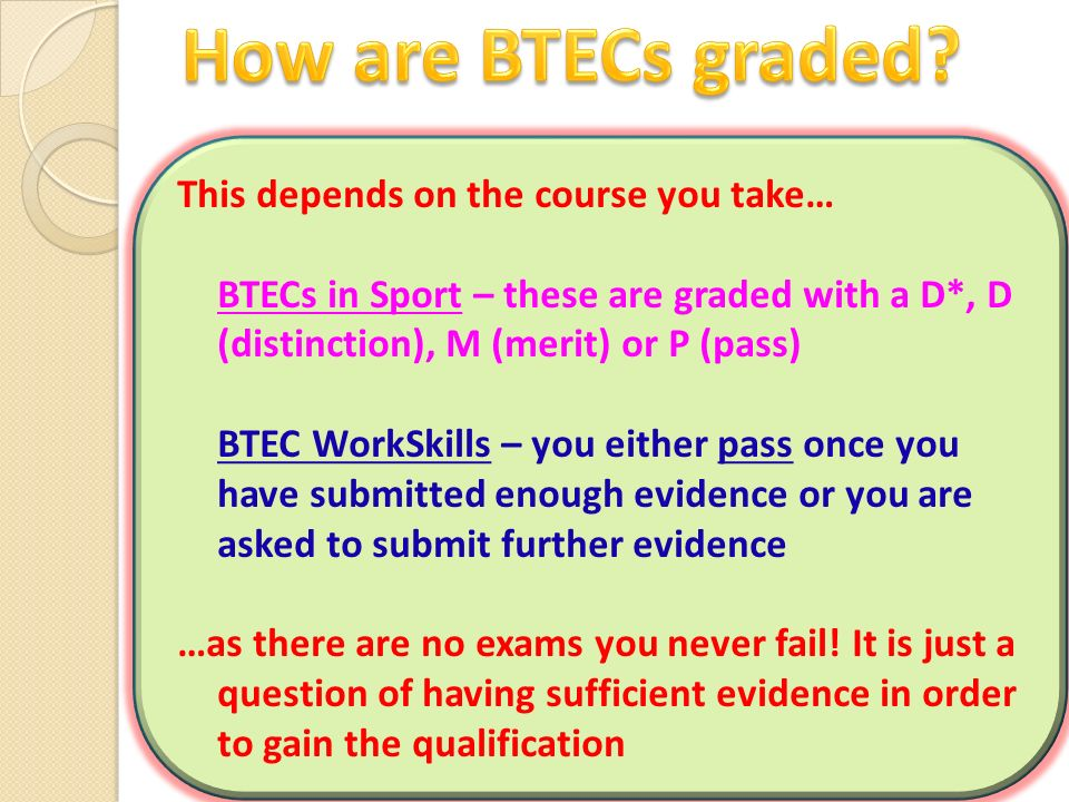 1.What are the two different BTEC subjects offered at WHS.