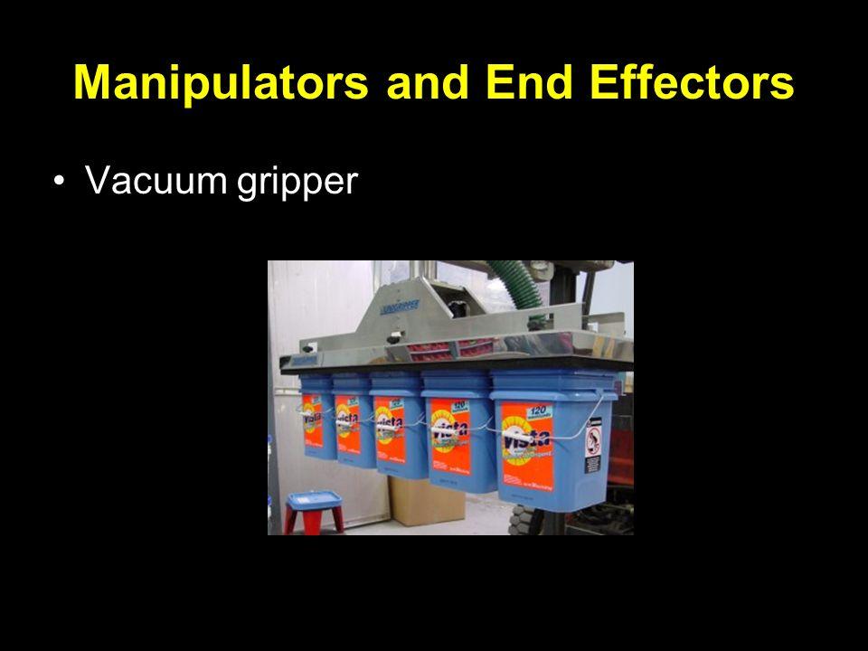 Manipulators and End Effectors Vacuum gripper