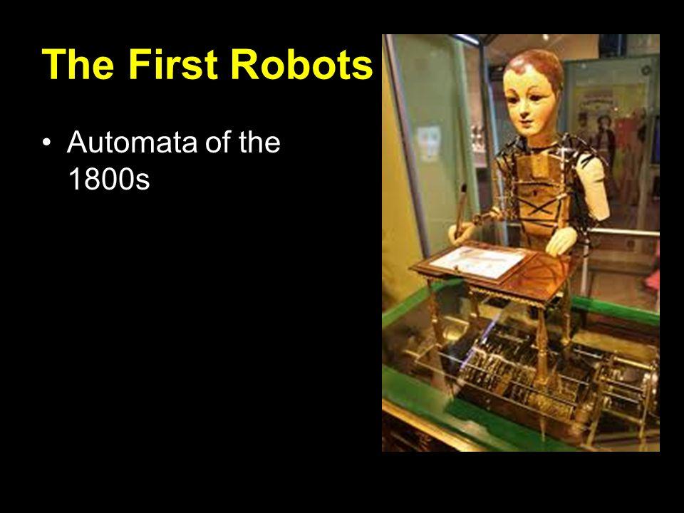 Sensors Robots must know: Where am I.Where do I need to go.