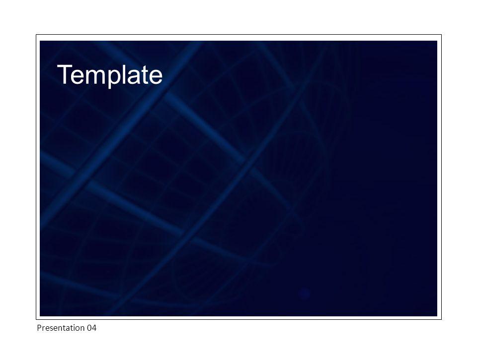 Template Presentation 04