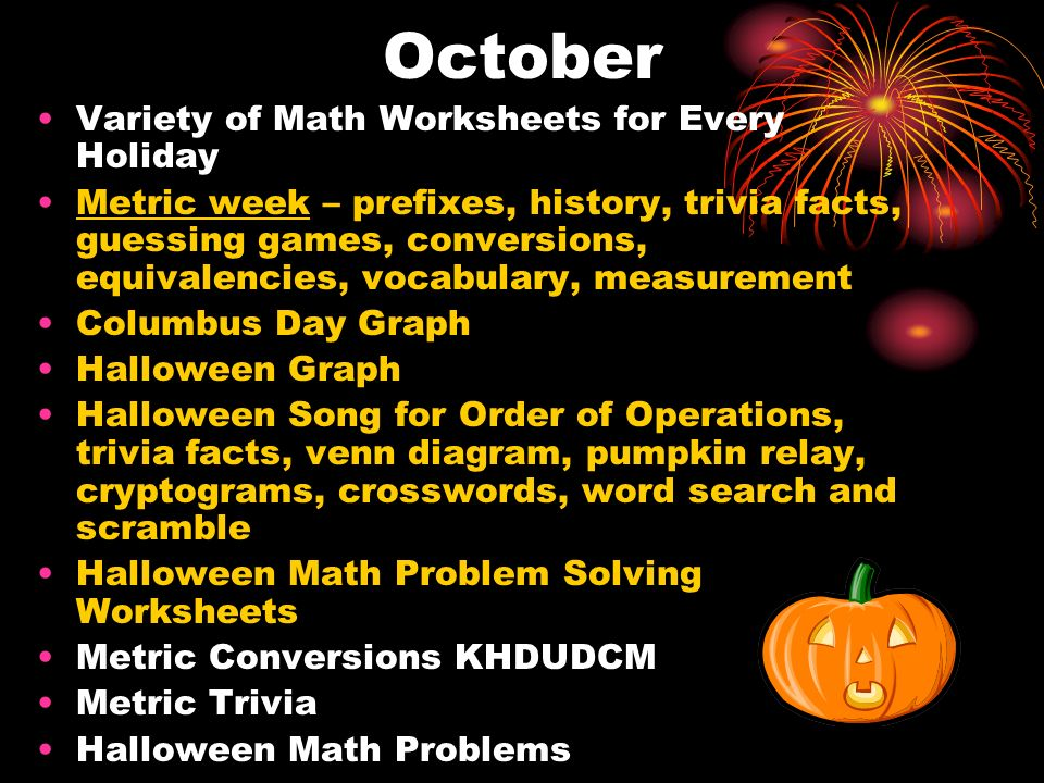 November Variety of Math Worksheets for Every Holiday Voting Math Problem Solving Veterans Day Graph Thanksgiving crossword, problem solving, word scramble and search, relay problems, multiplication facts, trivia facts, and graph