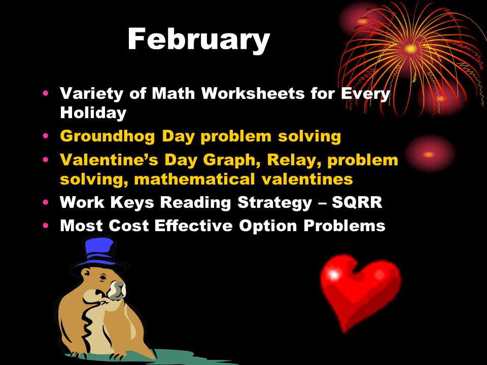 March Variety of Math Worksheets for Every Holiday Pi Day Activities – memorization contest, numbers in hallway, power point, songs, story, measurement activity, trivia facts, bulletin board, etc.