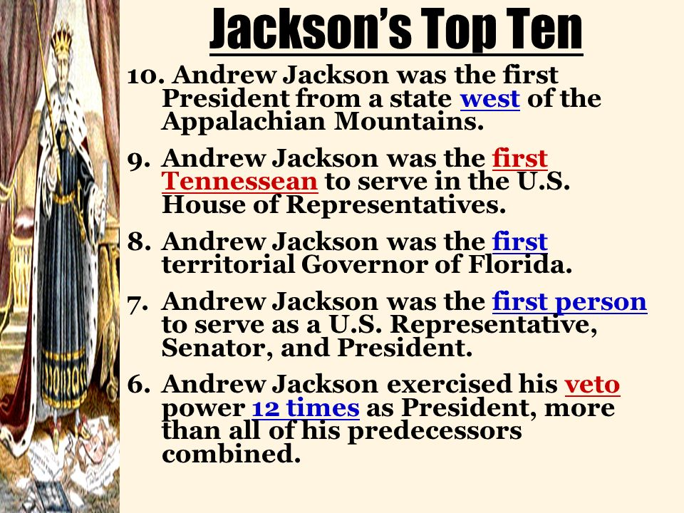 Jacksons Top Ten 10.