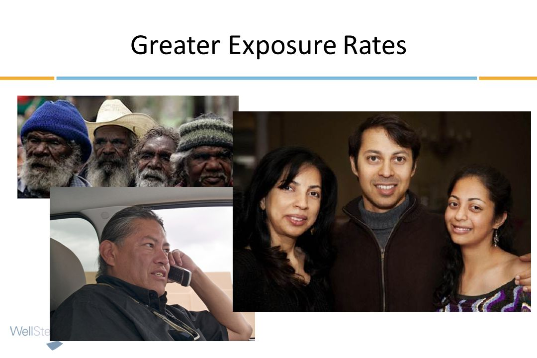 Greater Exposure Rates
