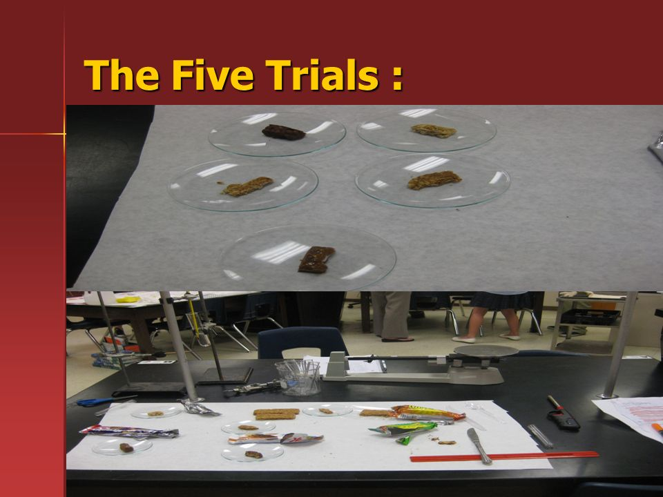 The Five Trials :