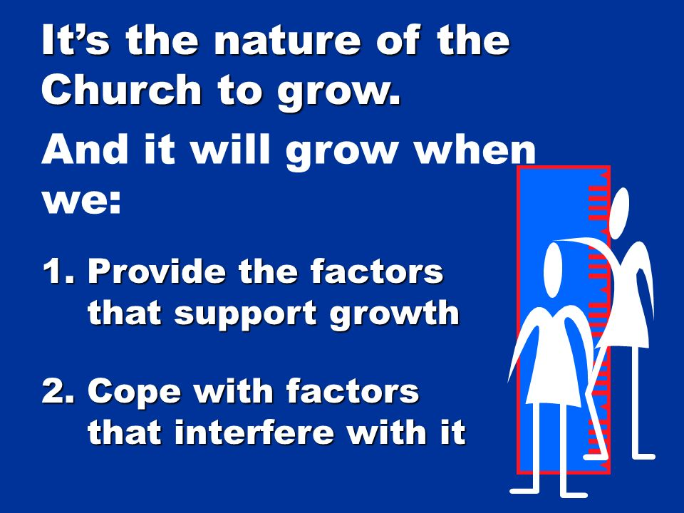 Its not your job to make the Church grow