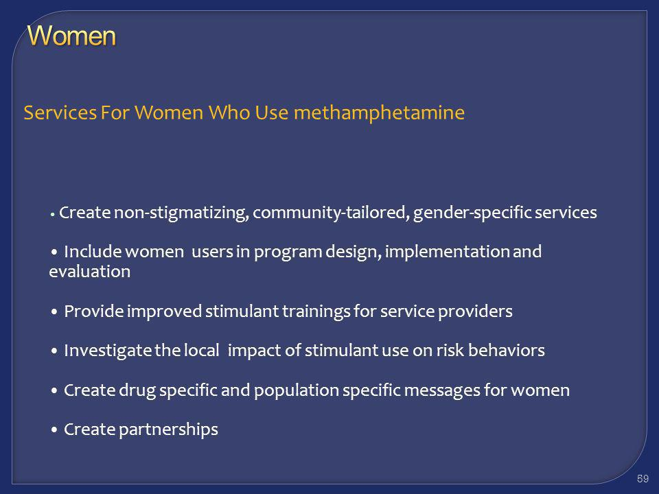 58 Breastfeeding is contraindicated as significant amounts of methamphetamine are transferred into breast milk from the maternal plasma due to their l