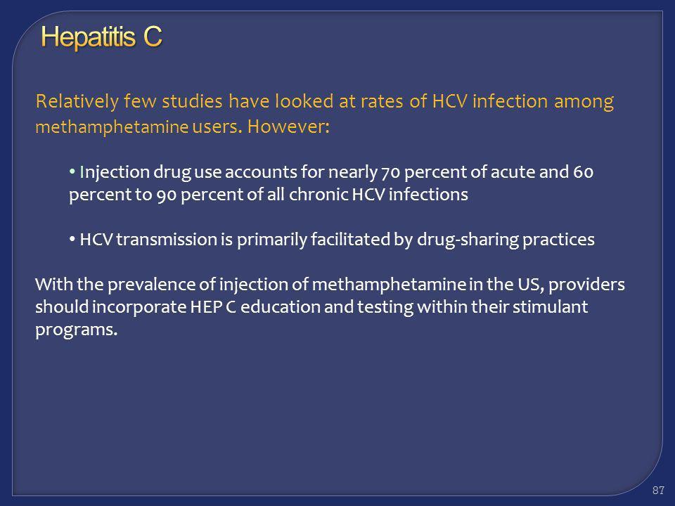 Considerations: Hepatitis C 86