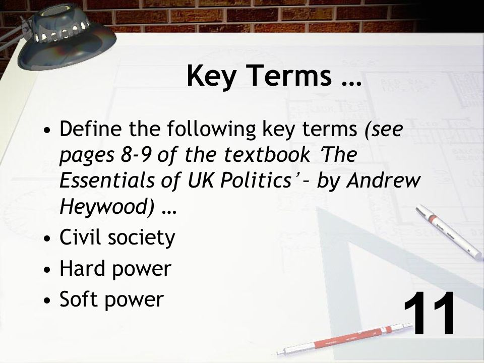 Approaches to the study of politics … Political science - facts such as govt, elections, parties - describing activities rather than what people ought
