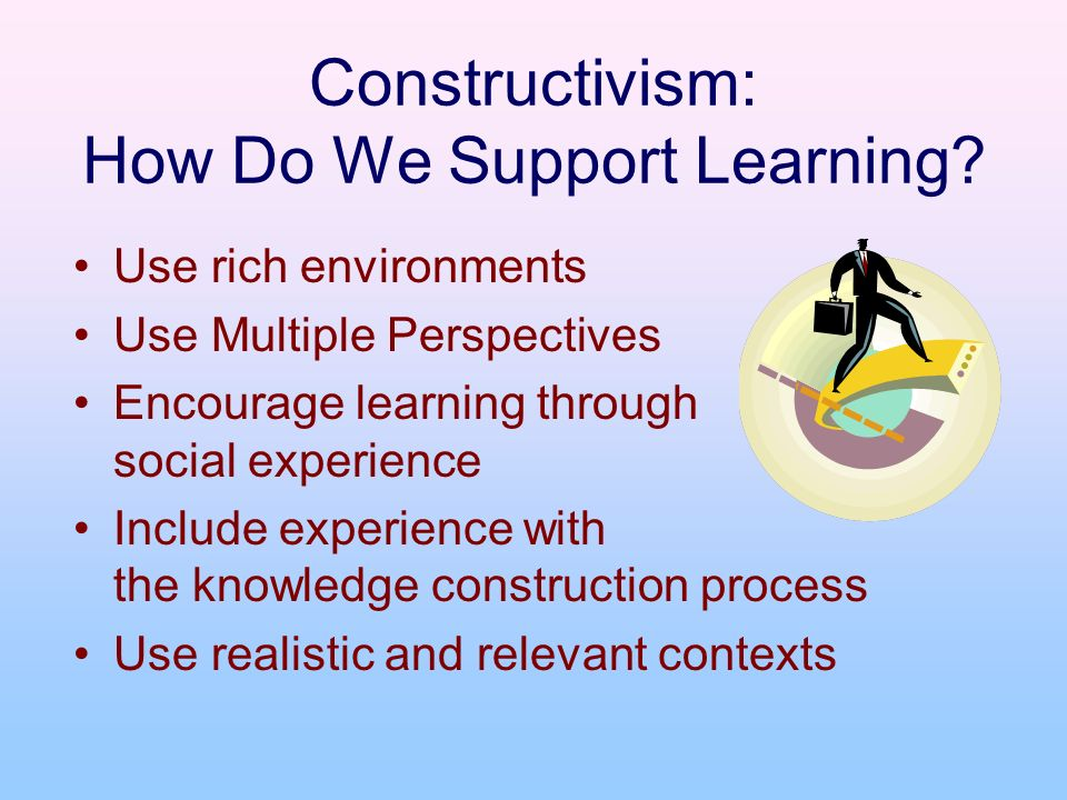Constructivism: How Do We Support Learning.