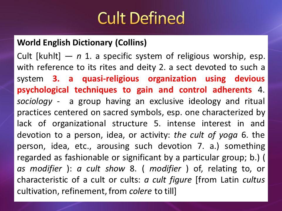 Cults Lords Church False basis of salvationNo false basis: 1 Pet.