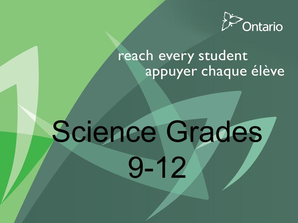1 Science Grades 9-12