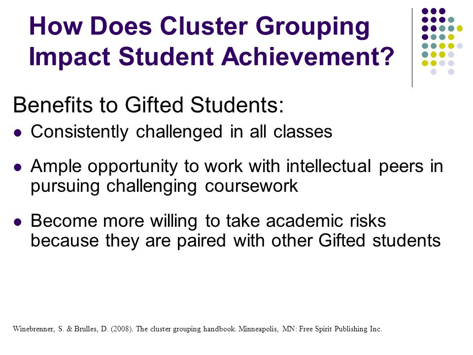 How Does Cluster Grouping Impact Student Achievement.