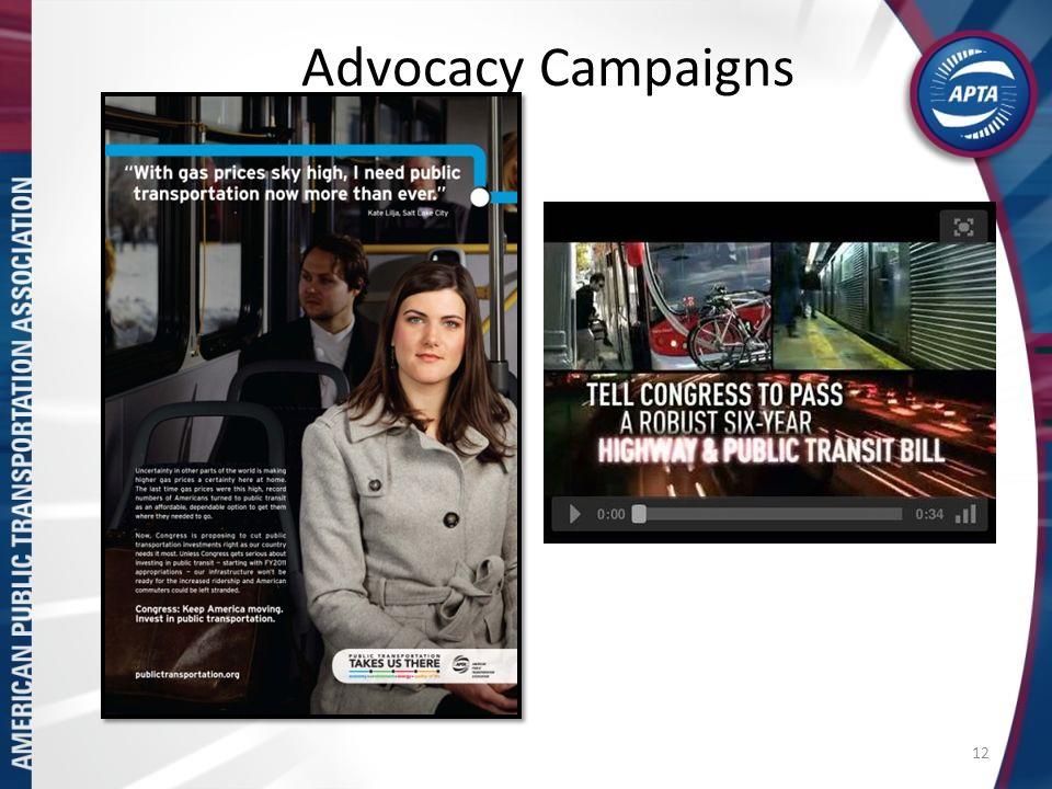 Advocacy Campaigns 12