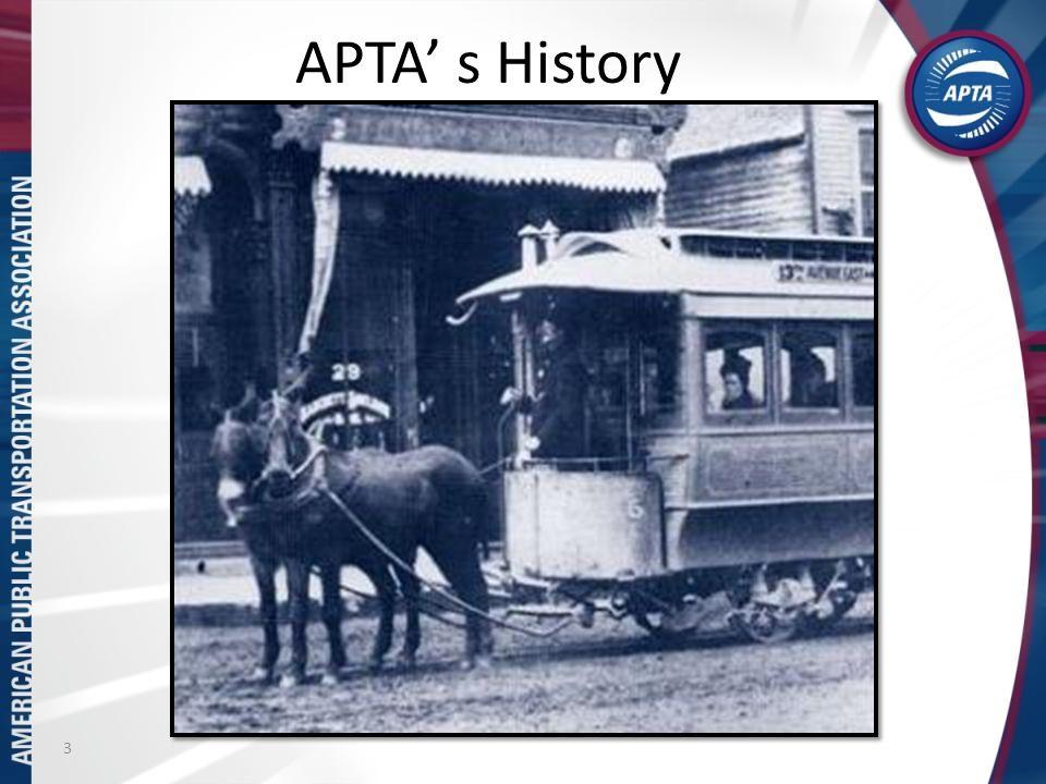 APTA s History 3