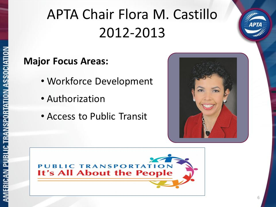 APTA Chair Flora M.