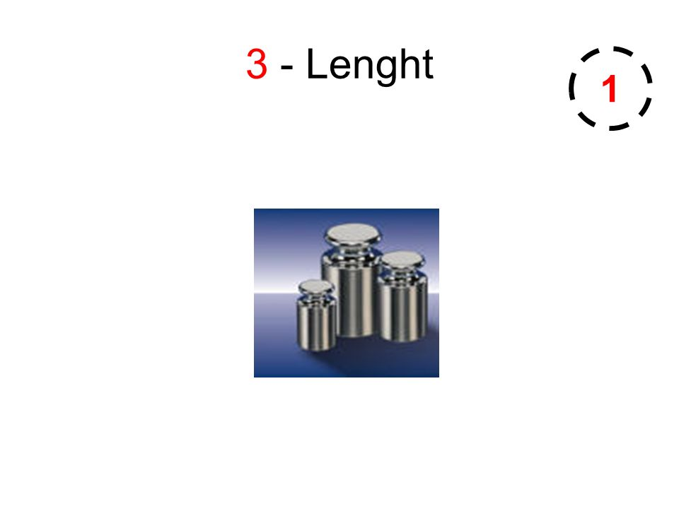 3 - Lenght 1